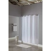 HOOKLESS HBH16SND0174 Shower CurtainWhite74 In L71 W