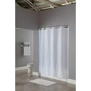 HOOKLESS HBH16SND0174 Shower CurtainWhite74 In L71 W