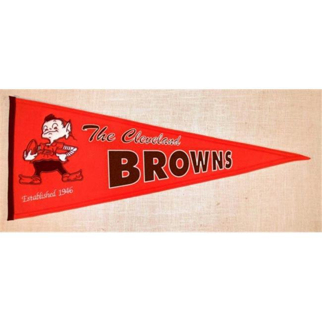 Winning Streak Sports Pennants 61071 Cleveland Browns Throwback