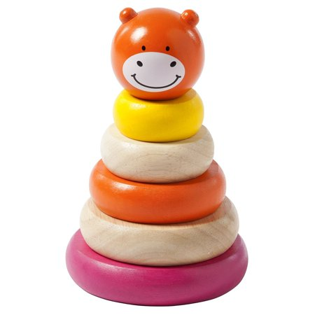 Manhattan Toy Wooden Stacker Baby Developmental Toy, -