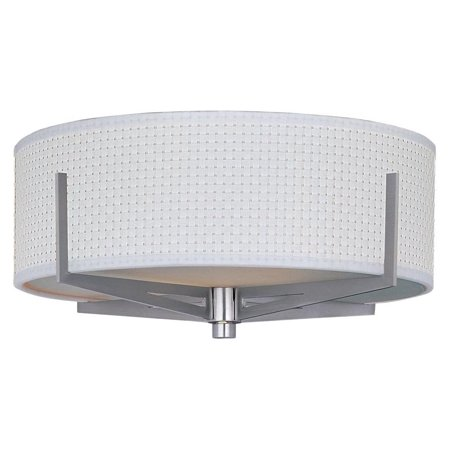 100sn Elements Satin - ET2 Elements Satin Nickel European Flush Mount w/ 2 Light 100W - E95300-100SN