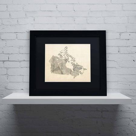 Canada Sheet Music - Trademark Fine Art
