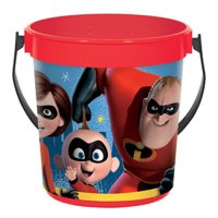 Party Supplies - Incredibles - Favor Container Pail - Plastic - 1ct