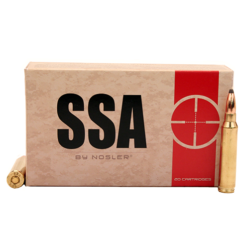 SSA 5.56mm 63gr Soft Point /20