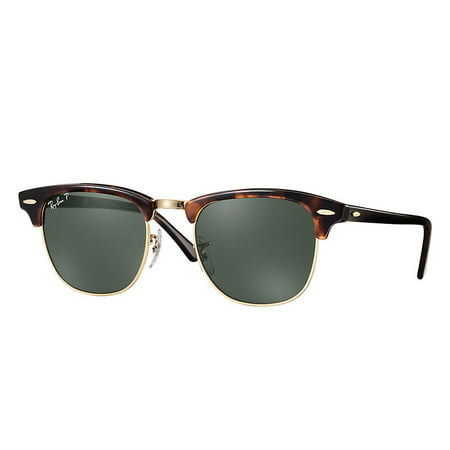 Ray-Ban Unisex RB3016 Classic Clubmaster Sunglasses, 49mm (Ray-ban Uv)