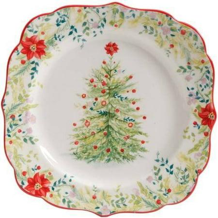 The Pioneer Woman Holiday Cheer 12-Piece Dinnerware Set - Walmart.com