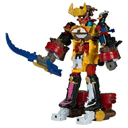 power rangers ninja steel a' dx bullrider megazord action figure | walmart canada