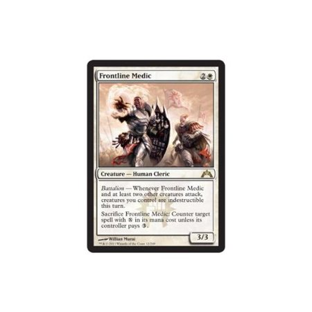 Frontline Medic  12    Gatecrash  A Single Individual Card From The Magic  The Gathering  Mtg  Trading And Collectible Card Game  Tcg Ccg   Ship From Us