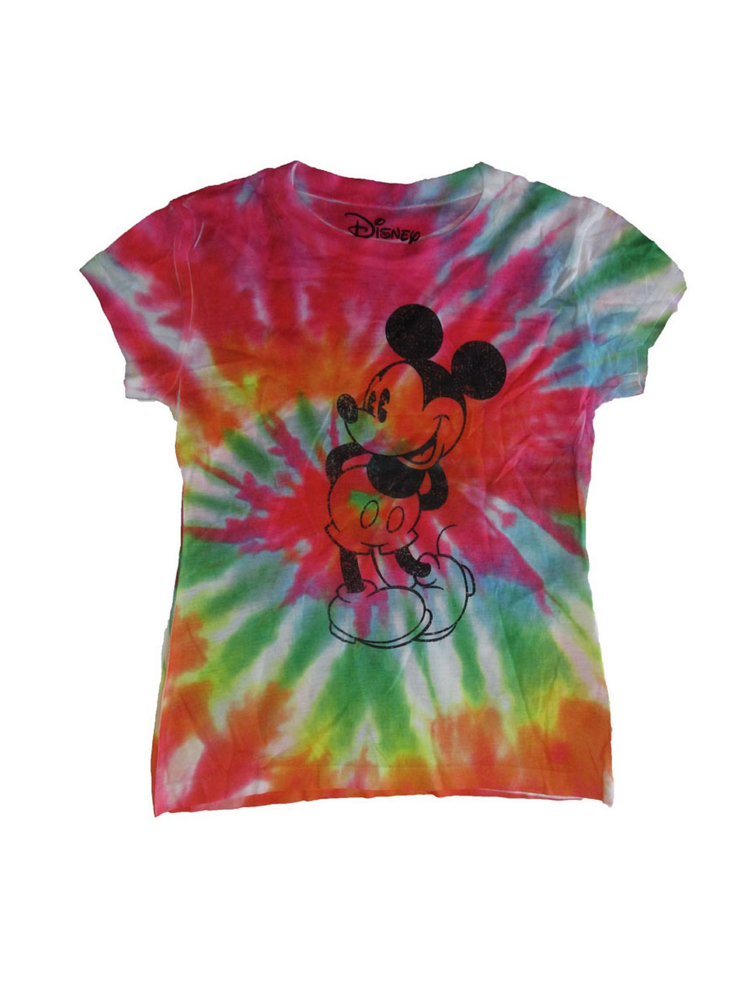 3 Pink; Adult or Child Boy or Girl Disney World Mickey Mouse Tie Dye T-shirt