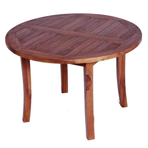 JazTy Kids Solid Teak Round Table