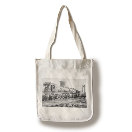 Sacramento, California - Southern Pacific Mallet Train (100% Cotton Tote Bag - Reusable) - California Tote Bag
