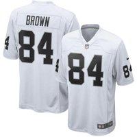 47b818d11 Product Image Antonio Brown Oakland Raiders Nike Game Jersey - White