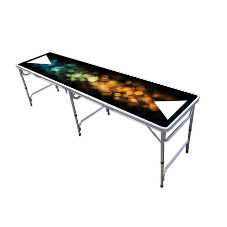 8 foot professional beer pong table bubbles edition - Professional beer pong table ...