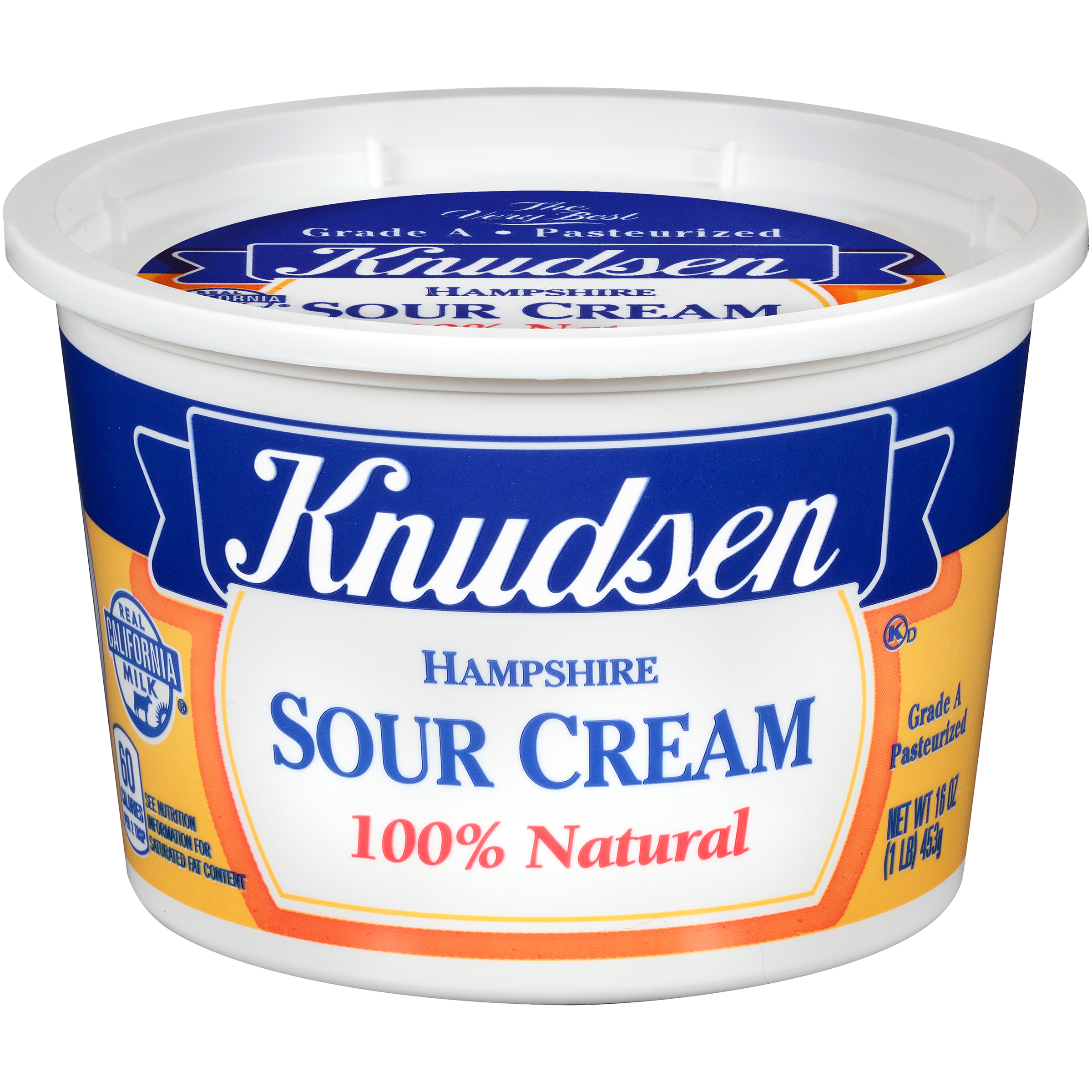 Knudsen 100% Natural Hampshire Sour Cream, 16 oz