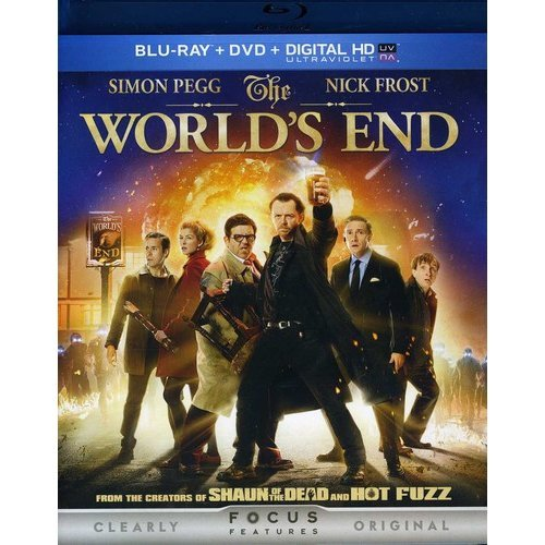 The World's End (Blu-ray + DVD) (With INSTAWATCH) (With INSTAWATCH) (Widescreen)