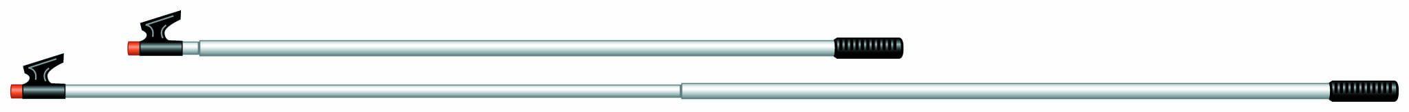 New Telescoping Boat Hook garelick 55190:02 Length 4/' to 7.5/'