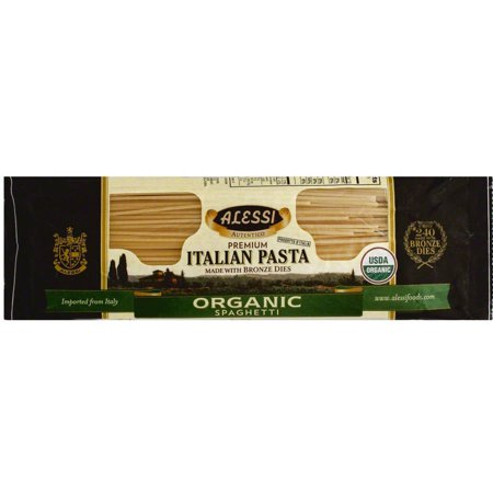 Alessi Miniature (Alessi Organic Spaghetti Pasta, 16 oz, (Pack of 12) )