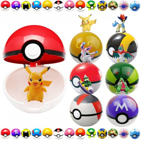 Pokeball 9Pcs Cosplay With 9 Anime -