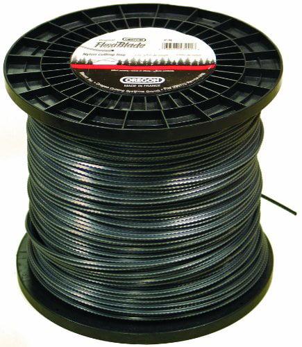 oregon 21 608 flexiblade 470 feet large spool of string trimmer line gauge. Black Bedroom Furniture Sets. Home Design Ideas