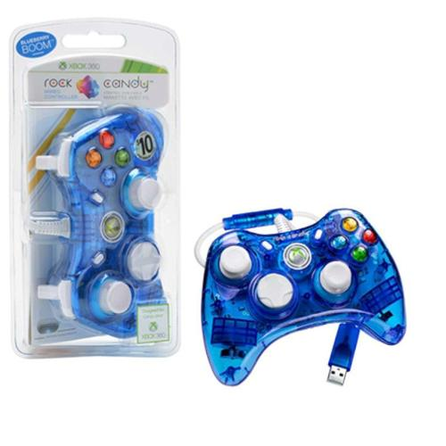 Rock Candy Controller For Microsoft Xbox 360 - Blue