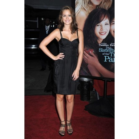Leighton Meester At Arrivals For Part 2 Of The Sisterhood Of The Traveling Pants 2 Ziegfeld Theatre New York Ny July 28 2008 Photo By Kristin CallahanEverett Collection Celebrity