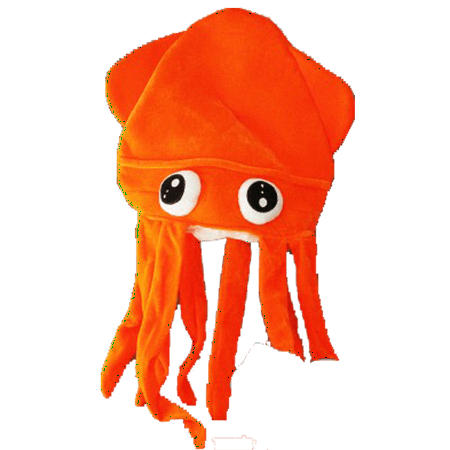 Fun Central - (BC612) Assorted LED Squid Hat a0f7c3135fb