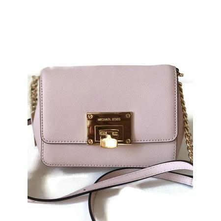 Michael Kors Tina Small Leather Clutch Crossbody Bag - Blossom