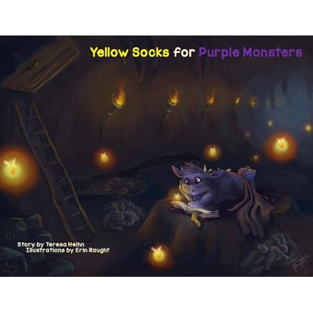 Yellow Socks for Purple Monsters