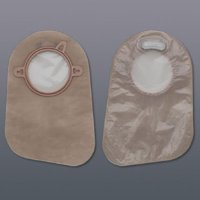 """Filtered Ostomy Pouch New Image - Item Number 18363 - 60 Each / Box - 2-1/4"""" Flange"""