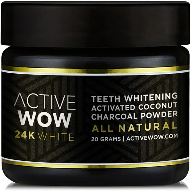 Active Wow Natural Charcoal Teeth Whitening Walmart Com Walmart Com