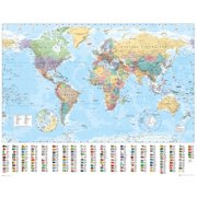 World Map 2015 Poster