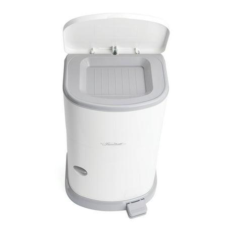 Adult Diaper Disposal Container: Akord Slim Receptacle - 7 Gallon Capacity (Adult Diaper Disposal System)