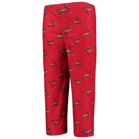 St. Louis Cardinals Youth Allover Pants - Red