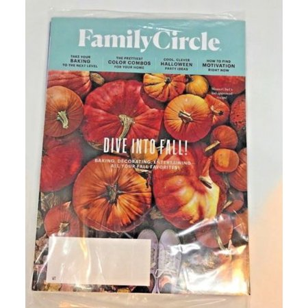 Family Circle Magazine October 2018 Dine Into Fall / Halloween Party Ideas - Halloween Ideas For Work