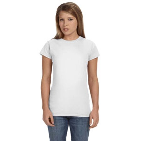 Gildan Ladies Softstyle   4 5 Oz  Fitted T Shirt G640l