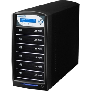 SHARKBLU BLU-RAY DVD CD USB 3.0 STAND-ALONE 1:6 DUPLICATOR HDD