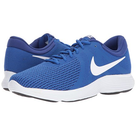 Nike REVOLUTION 4 Mens Blue White Athletic Running Shoes