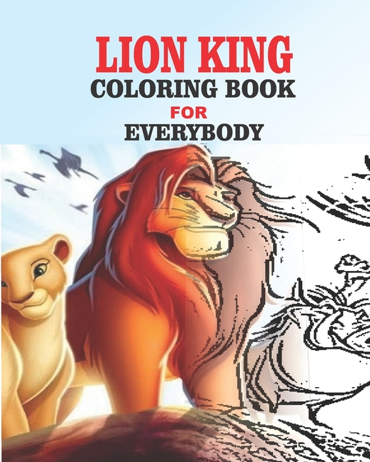 Lion King Coloring Book For Everybody (Paperback) - Walmart.com -  Walmart.com