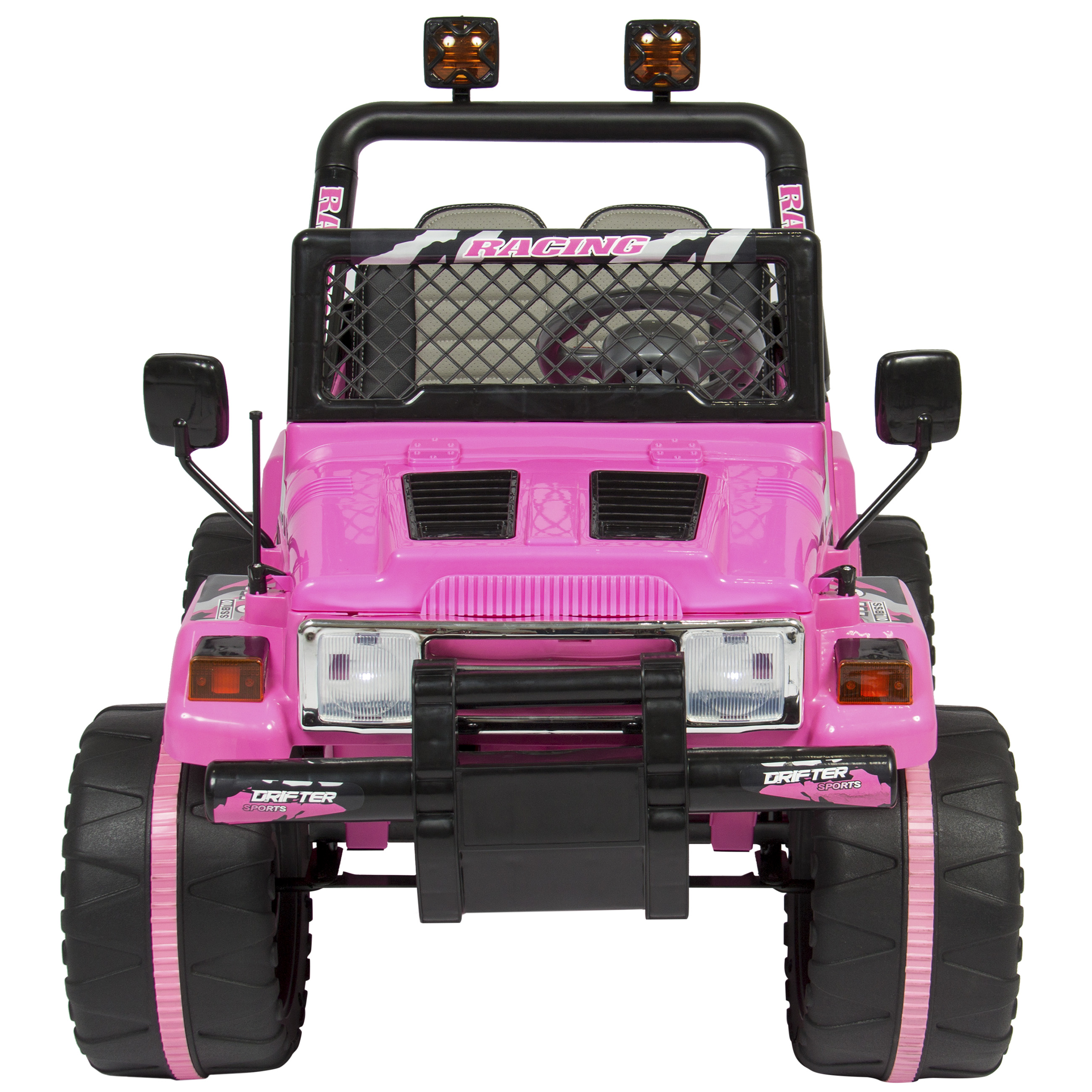 Best Choice Products 12v Ride On Car Truck W Remote Control Jeep Yj Wiring Harness Ebay Leather Seat Lights 2 Speeds Pink