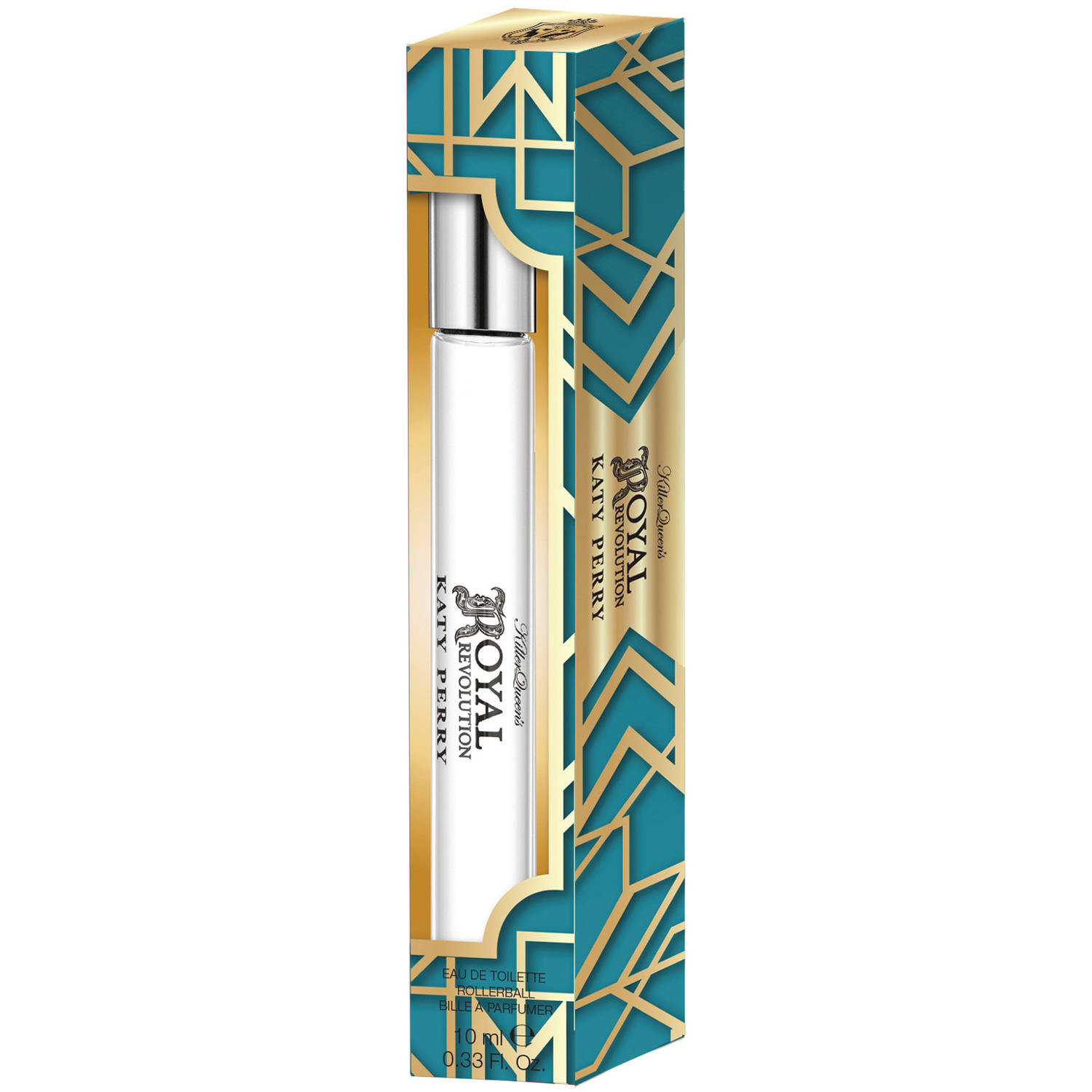 Katy Perry Royal Revolution Womens Perfume Rollerball, .33 fl oz