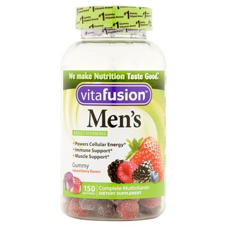 Vitafusion Complete gélifiés multivitaminés Complément alimentaire pour homme, 150 count