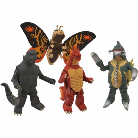 Diamond Select Toys Godzilla Minimates Series 1 Box Set