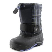Kamik Rocket2 Toddler  Round Toe Canvas Blue Winter Boot