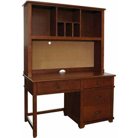 Generic Pedestal Desk Hutch Set Image
