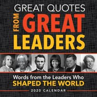 2020 Great Quotes from Great Leaders Boxed Calendar (Other)