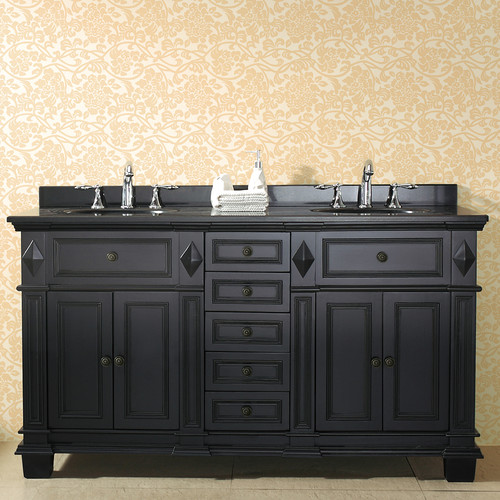 Ove Decors Essex 60'' Double Bathroom Vanity Set