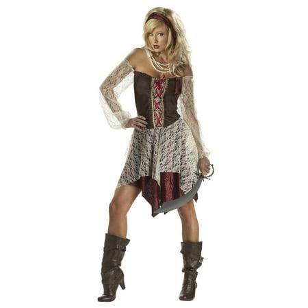 South Seas Siren Pirate Adult (Women's South Seas Siren Costume)