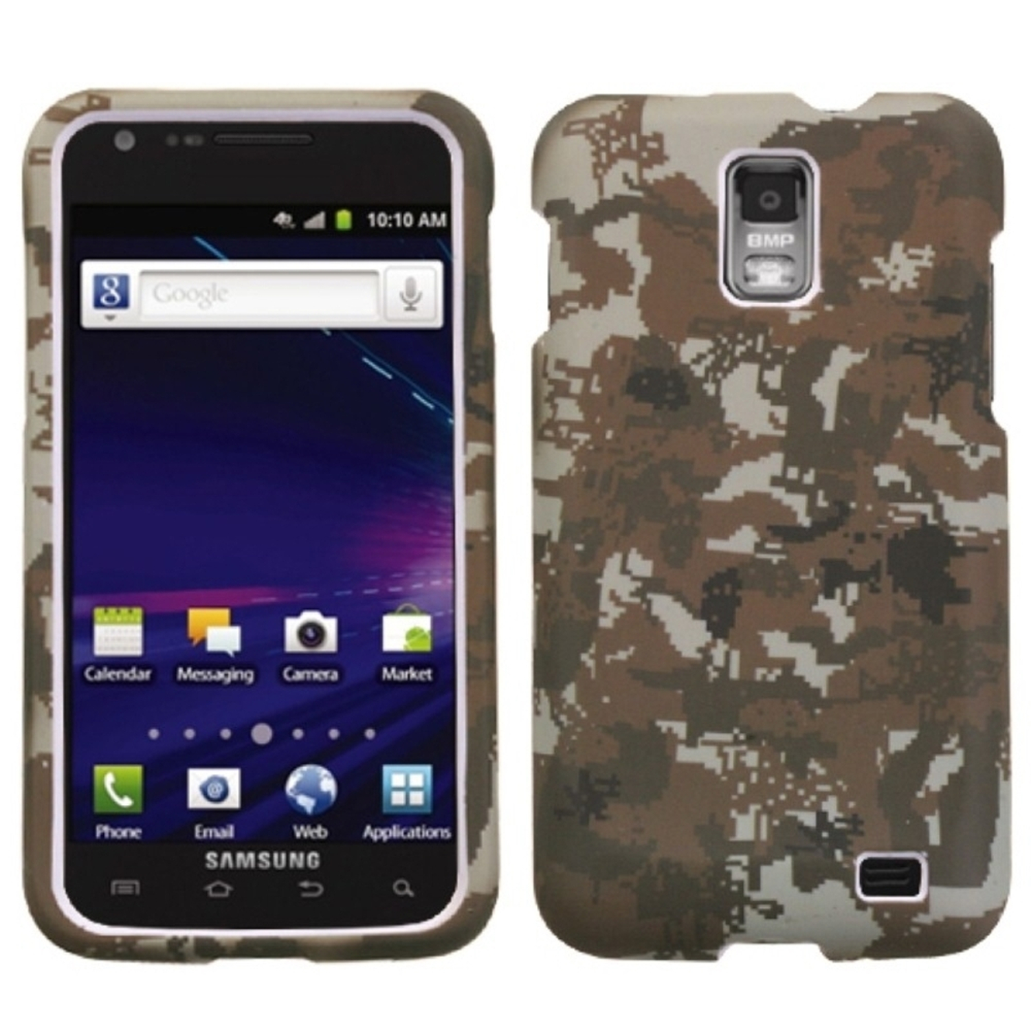 Insten Lizzo Digital Camo/Yellow Phone Case for SAMSUNG: i727 (Galaxy S II Skyrocket)