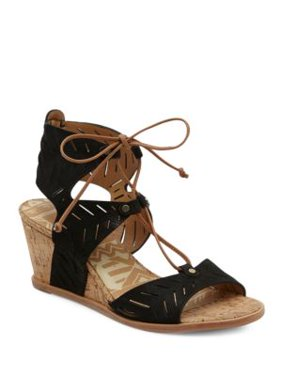 68eef3af9e3 Product Image Langly Leather Wedge Sandals. Dolce Vita