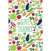Checkerboard, Ltd Give Thanks Graphic Art
